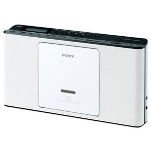 ソニー【SONY】CDラジオ ZS-E80-W(ホワイト)★【ZS-E80-W】