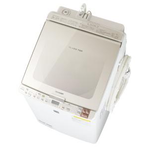 シャープ【SHARP】9.0kg タテ型洗濯乾燥機 ES-GX950-N★【ESGX950】