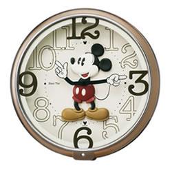 セイコー【SEIKO】ディズニータイム 掛け時計 ミッキー FW576B★【キャラクタークロック】