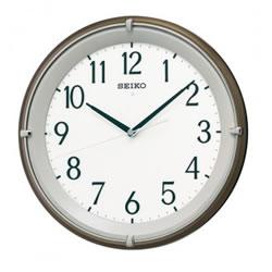 セイコー【SEIKO】電波掛け時計 白色LED全面点灯 KX203B★【光センサー自動全面点灯】
