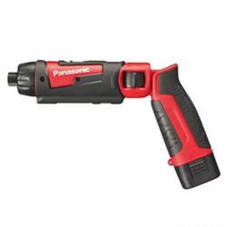 パナソニック【Panasonic】7.2V1.5Ah 充電スティックドリルドライバー 赤 EZ7421LA2S-R★【充電器・ケース・電池2個付】