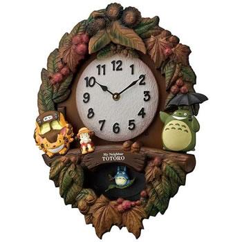 リズム時計工業【RHYTHM】掛け時計 「トトロM429」 4MJ429-M06★【キャラクター時計】