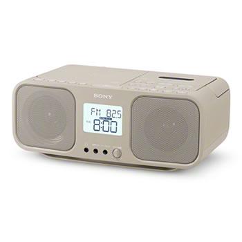 ソニー【SONY】CDラジオカセットレコーダー CDラジカセ CFD-S401-TI(ベージュ)★【CFDS401TI】