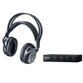 パナソニック【Panasonic】デジタルワイヤレスサラウンドヘッドホンシステム RP-WF70-K★【RPWF70K】
