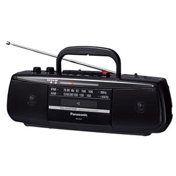 パナソニック【Panasonic】ステレオラジオカセットレコーダー RX-FS27-K★【RXFS27K】
