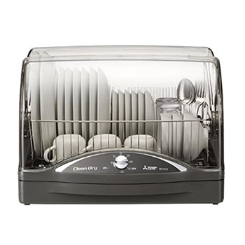 三菱【MITSUBISHI】食器乾燥機 キッチンドライヤー TK-TS7S-H(ウォームグレー)★【TKTS7SH】
