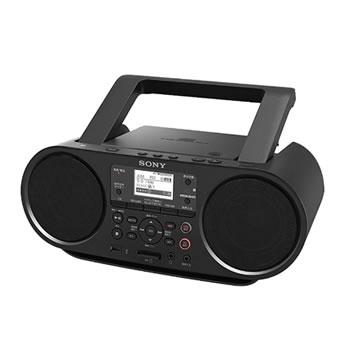 ソニー【SONY】CDラジオ ブラック ZS-RS81BT★【ZSRS81BT】