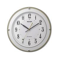 リズム時計【RHYTHM】電波掛時計 ミレディサヤカ 8MY510SR03★【8MY510SR03】