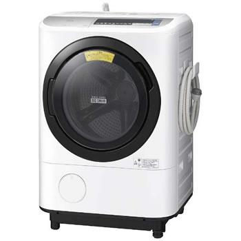 日立【代引き・日時指定不可】洗濯11kg 左開き ドラム式洗濯乾燥機 BD-NV110BL-S★【BDNV110BLS】