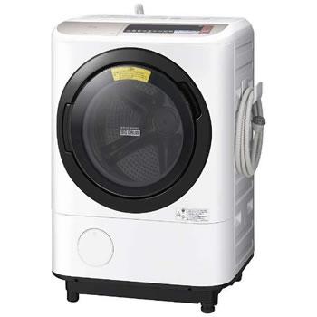 日立【代引き・日時指定不可】洗濯12kg 左開き ドラム式洗濯乾燥機 BD-NX120BL-N★【BDNX120BLN】