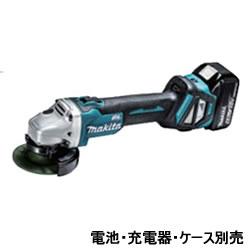 マキタ【makita】18V100mm充電式ディスクグラインダ 本体のみ GA412DZ★【電池・充電器・ケース別売】