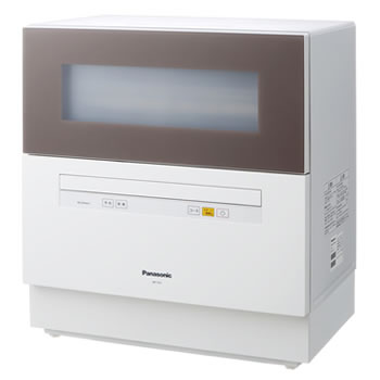 パナソニック【Panasonic】5人用 食器洗い乾燥機 レギュラーサイズ NP-TH1-T(ブラウン)★【NPTH1T】