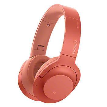 ソニー【ワイヤレス】ノイズキャンセリングステレオヘッドホン h.ear on 2 WH-H900N-R★【WHH900NR】