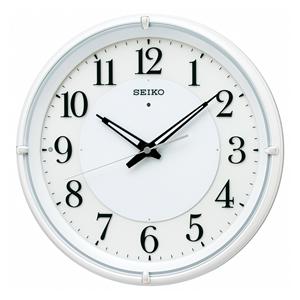 セイコー【SEIKO】電波掛時計 夜でも見える KX233W★【KX233W】
