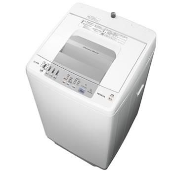 15:00迄のご注文で最短当日出荷(在庫商品に限る) 日立【HITACHI】7.0kg 全自動洗濯機 白い約束 NW-R704-W★【NWR704W】