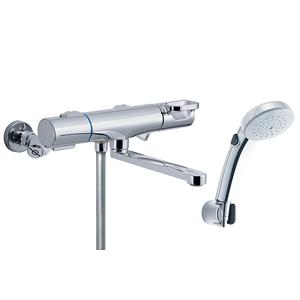 INAX【LIXIL】浴室用サーモスタット付SWシャワーバス水栓(回せるもん) RBF-814ZW★【RBF814ZW】