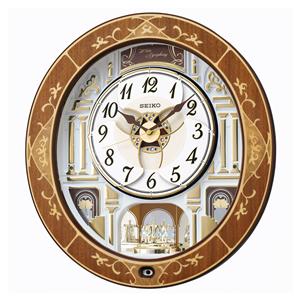 セイコー【SEIKO】電波掛時計 からくり時計 RE580B★【RE580B】