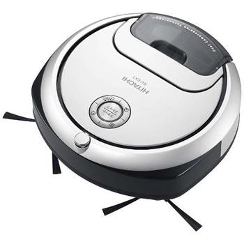 日立【HITACHI】ロボット掃除機 minimaru RV-EX1-W(パールホワイト)★【RVEX1W】