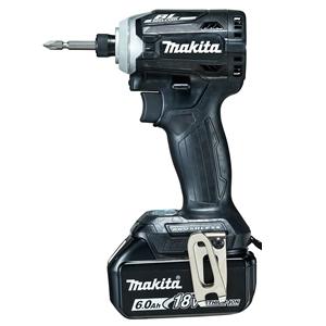マキタ【makita】18V6.0Ah充電式インパクトドライバ黒 TD171DRGXB★【電池・充電器・ケース付】