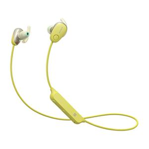 ソニー【SONY】 ワイヤレスノイズキャンセリングステレオヘッドセット WI-SP600N-Y★【WISP600NY】