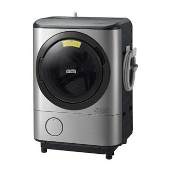 日立【代引・日時指定不可】洗濯12kg ドラム式洗濯乾燥機 ビッグドラム BD-NX120CL-S★【左開き】