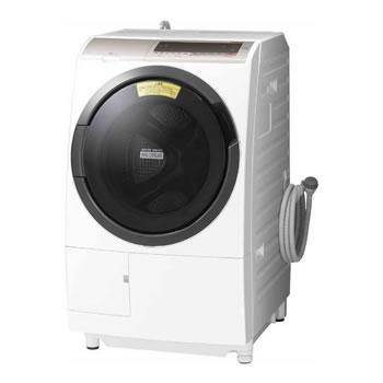 日立【代引・日時指定不可】洗濯11kg 左開き ドラム式洗濯乾燥機 BD-SV110CL-N★【BDSV110CLN】
