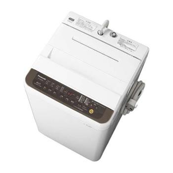 パナソニック【Panasonic】6kg 全自動洗濯機 NA-F60PB12-T(ブラウン)★【NAF60PB12T】