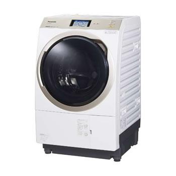 パナソニック【・日時指定】左開き ななめドラム洗濯乾燥機 NA-VX9900L-W★【NAVX9900LW】