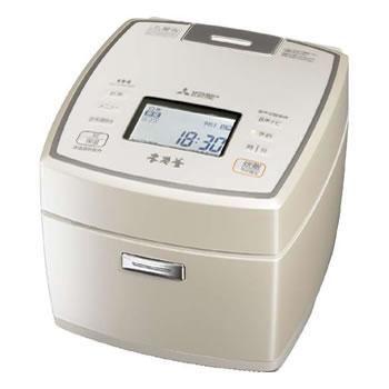 三菱【MITSUBISHI】5.5合 IHジャー炊飯器 本炭釜 白和三盆 NJ-VW109-W★【***特別価格***】