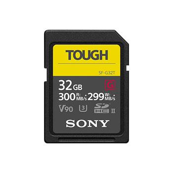 ソニー【SONY】32GB SDXC UHS-II メモリーカード Class10 TOUGH(タフ) SF-G32T★【SDメモリーカード】