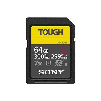 ソニー【SONY】64GB SDXC UHS-II メモリーカード Class10 TOUGH(タフ) SF-G64T★【SDメモリーカード】