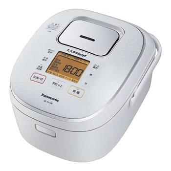 パナソニック【Panasonic】5.5合 IHジャー炊飯器 大火力おどり炊き SR-HX108-W★【SRHX108W】