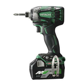 HiKOKI【ハイコーキ】36V コードレスインパクトドライバ WH36DA-2XP★【電池2個・充電器・ケース付 グリーン】