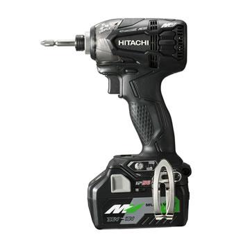 HiKOKI【ハイコーキ】36V コードレスインパクトドライバ WH36DA-2XPB★【電池2個・充電器・ケース付 ブラック】