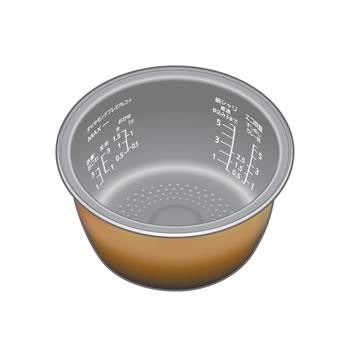 パナソニック【SR-VSX188用】パナソニックIHジャー炊飯器用 内釜 ARE50-J67★【ARE50J67】