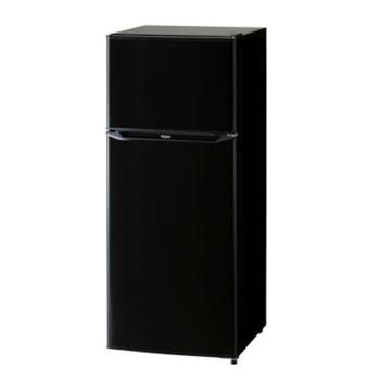 ハイアール【Haier】130L 2ドア冷凍冷蔵庫 JR-N130A-K(ブラック)★【JRN130AK】