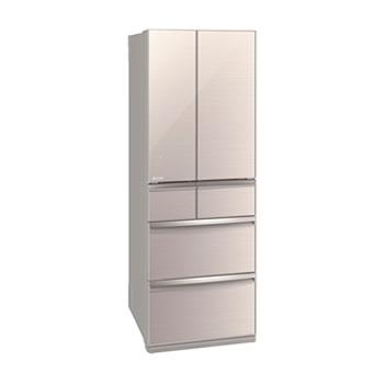 三菱電機【代引・日時指定不可】517L 冷蔵庫 WXシリーズ クリスタルフローラル MR-WX52D-F★【置けるスマート大容量】