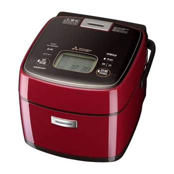 三菱【MITSUBISHI】3.5合 IHジャー炊飯器 ミラノレッド NJ-SEA06-R★【NJSEA06R】