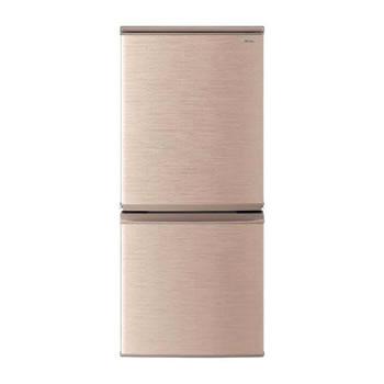 シャープ【SHARP】137L 冷蔵庫 つけかえどっちもドア ブロンズ系 SJ-D14E-N★【SJD14EN】