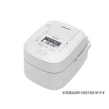 パナソニック【Panasonic】1升 スチーム&可変圧力IHジャー炊飯器 ホワイト SR-VSX189-W★【Wおどり炊き】