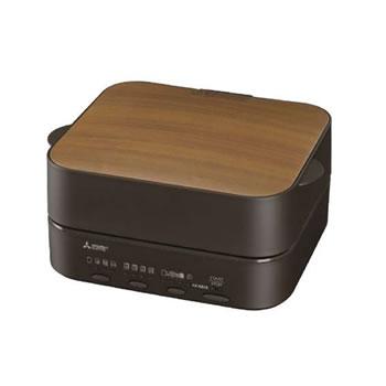 三菱【MITSUBISHI】オーブントースター ブレッドオーブン レトロブラウン TO-ST1-T★【TOST1T】