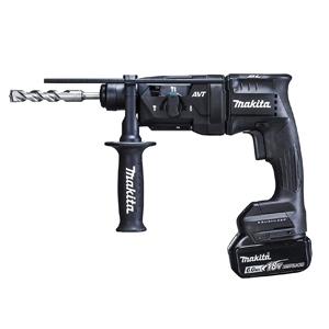 マキタ【makita】18V充電式ハンマードリル黒 HR182DRGXB★【電池2個・充電器・ケース付】