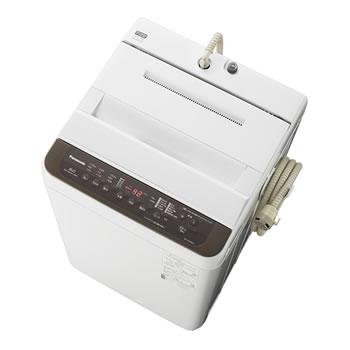 パナソニック【Panasonic】6.0kg 全自動洗濯機 ブラウン NA-F60PB13-T★【NAF60PB13T】