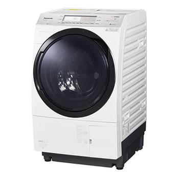 パナソニック【代引・日時指定不可】洗濯10kg 乾燥6kg ななめドラム洗濯乾燥機 NA-VX700AL-W★【左開き】