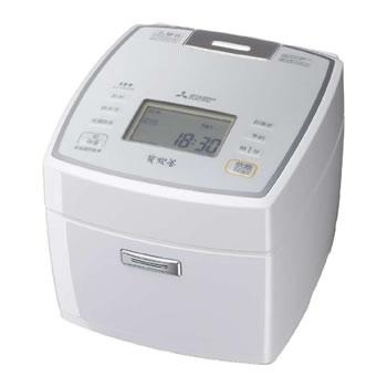 三菱【MITSUBISHI】5.5合 IHジャー炊飯器 ピュアホワイト NJ-VEA10-W★【NJVEA10W】
