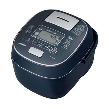 東芝【TOSHIBA】5.5合炊き 真空圧力IH炊飯器 インディゴブルー RC-10VSN-L★【RC10VSNL】