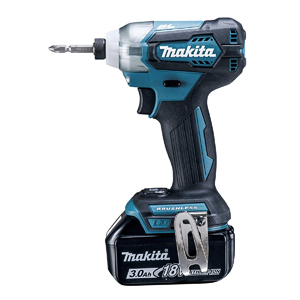 マキタ【makita】18V3.0Ah充電式インパクトドライバー 青 TD155DRFX★【電池2個・充電器・ケース付】