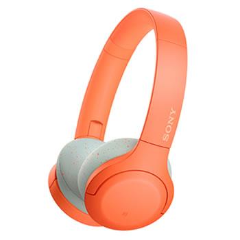 ソニー【SONY】h.ear on 3 Mini Wireless ステレオヘッドセット オレンジ WH-H810-D★【ワイヤレスヘッドホン】