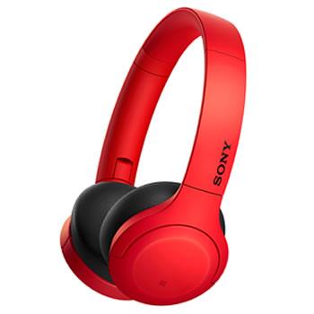 ソニー【SONY】h.ear on 3 Mini Wireless ステレオヘッドセット レッド WHH810R★【ワイヤレスヘッドホン】