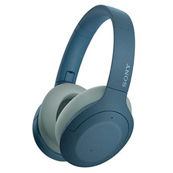 ソニー【SONY】h.ear on 3 ノイキャンWirelessヘッドセット ブルー WH-H910N-L★【ワイヤレスヘッドホン】